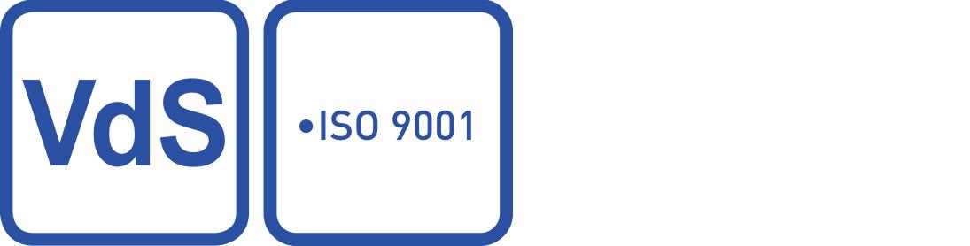 VDS zertifizierter Sicherheitsdienst consulting plus: Logo Qualitätsmanagement