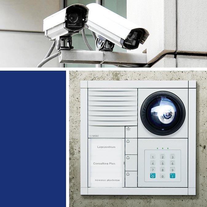 Sicherheitstechnik/ Überwachungstechnik (Überwachungskamera und Alarmanlage)