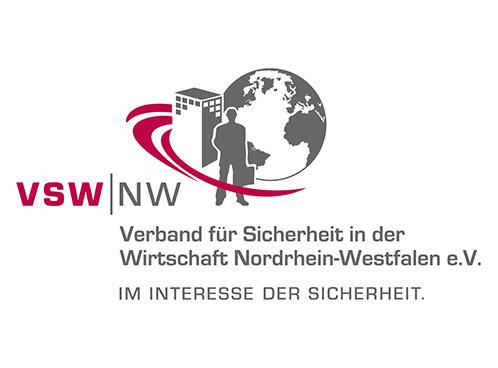 Logo - VSW NW Verband fuer Sicherheit in der Wirtschaft Nordrhein-Westfalen